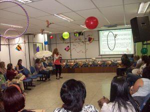 Encontro de apresentação do projeto para as professoras da Educação Infantil da rede Municipal de Duque de Caxias
