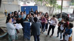 Escola Dr. Álvaro Alberto - Professora convidada Vilma Amancio