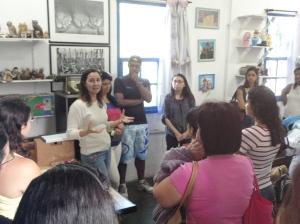 Visitação ao Museu Vivo do São Bento - Equipe do CEPEMHEd