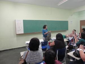 Colégio Duque de Caxias - Professora convidada Elsa Maria de Barros