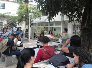 Colégio Santo Antônio - Professora convidada Vilma de Almeida Corrêa